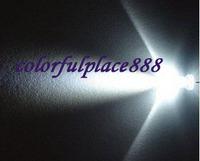 200pcs/Lot, New 3mm White Bright Water Clear LED Leds Lamp Light 2-Pin Free Shipping