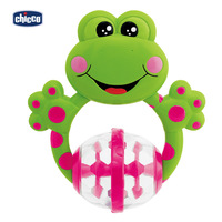 Free shipping Chicco baby toys boys frog rattles, yaoyaole