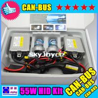55W HID CANBUS kit H1  H3 H7 H8 H9 H11 9005 9006 880 881 4300K 6000K 8000K ID1142