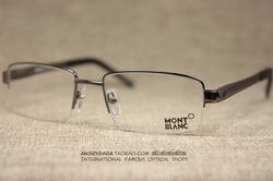 Wanbao mon lanc mb308 012 box metal optical frame eyeglasses frame myopia gun(China (Mainland))