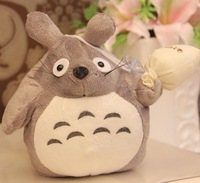 free shipping 18cm height Totoro plush toy children's day gift christmas day gift