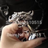 Armor Dinosaur Unicorn Knuckle Ring