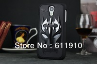 1pcs/lot X Batman Dark Knight 3D Metallic Hard Case Skin For Samsung Galaxy S4 i9500 SIV Wholesale and Retail+Free Shipping