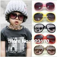 2014 Free shipping baby anti-uv big frame sunglasses glasses