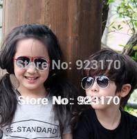 Free shipping sun-shading mirror candy large child polarized anti-uv sunglasses