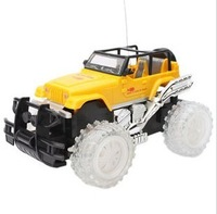 Children's toys extra foot four-channel wireless remote control off-road vehicles