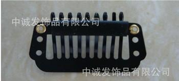 Hair straight hair real hair cord lock hair extension clip hairpin wig clip 3.2cm 3