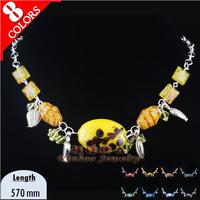 Vintage Murano Glass Beads Millefiori Classic Necklaces Afrian Jewelry Necklace Murano Glass Beads Factory 8 Color 15062