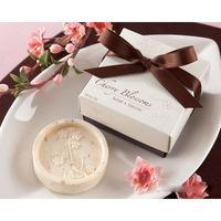 Wholesale free Shipping 12pcs/lot Sakura shape Favor Mix Color Soap for Bath Body Wedding Gift scented decorative soap