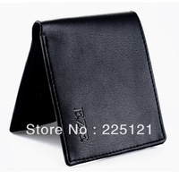 2013 male wallet short design genuine leather cowhide horizontal clip wallet