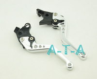 Motorcycle Lever Set Silver