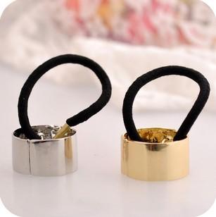 Min. order $9 (mix order) Quality tousheng hair bands metal ring headband vintage hair rope
