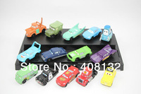New Pixar Car Figures Full Set PVC NEW 14 pcs Free shipping Loose figure