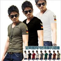 free shipping cheap men t shirt good quality 10 colours and size S to XXXL big size