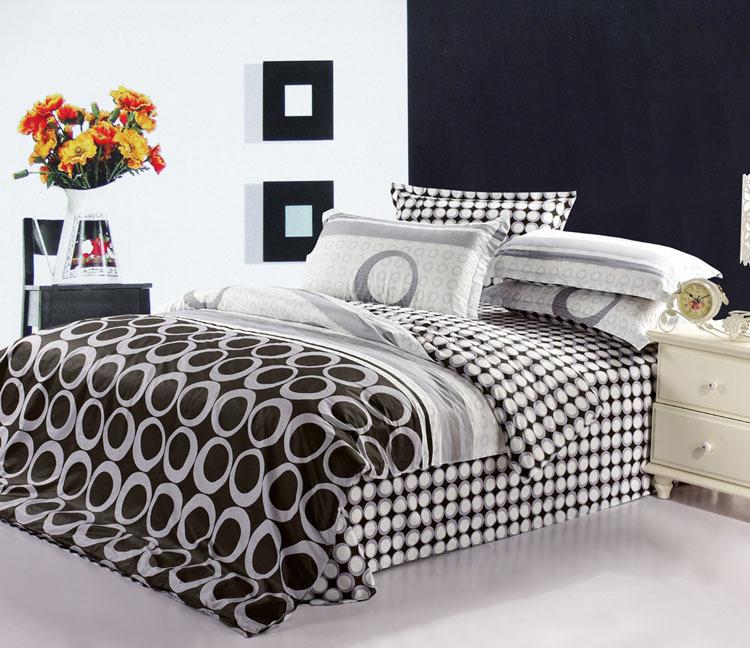 Red Black White And Gray Bedding Black White Gray Cream Blue