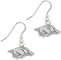 Arkansas Razorbacks sports charm earrings,20pairs a lot,free shipping