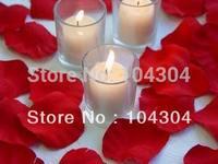 1000pcs/ lot,Dark Red Rose Fake Petals Silk Flowers Table Confetti Wedding Bridal Decorations, wedding petal,Free shipping