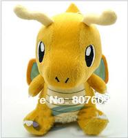 "Hot sale Fast dragon  lovely Plush toy cartoon toy pokemon pikachu plush doll birthday gift size 16cm ( 6.3"")"