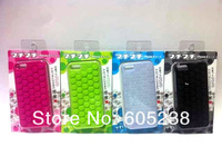 20 pieces  s Puchi Bubble Wrap Case For iPhone5 Can Make U High  4Colour (black white green pink)