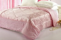 Free shipping 2013 Hot Sale Queen Size High-quality cotton quilt  jacquard duvet for Summer Air conditioning quilt 3 color