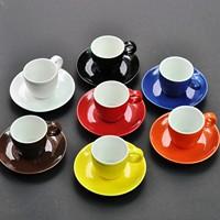 Coffee colorful caiyou espresso coffee cup 50ml espresso cup concentrated