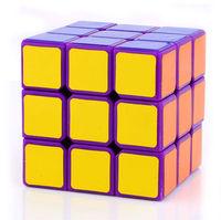 Free shipping magic tricks 57mm 3x3x3 DaYan  Zhanchi Magic Cube - Purple/White/Black