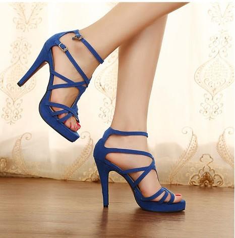 2013 styles new platform peep toes high heel shoes