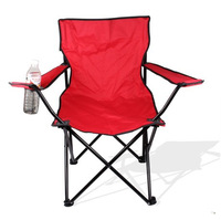 Outdoor Large armrest chair casual folding chair portable beach chair fishing chair folding stool
