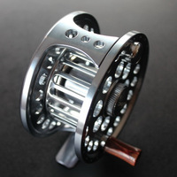 Free shipping hot sale Fa-60 material magnesium aluminum alloy before wheel fly fishing reel
