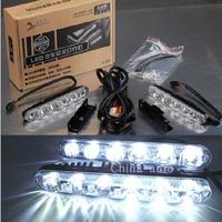 free shipping Dollarfish fork high brightness multifunctional lamp high power high beam led daytime running lights lamp