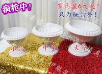 Flower pot pvc plastic flower pot roman column basin wedding props supplies