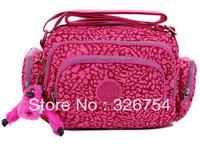 Nylon Messenger Bag Multi-pocket shoulder bag leisure bag ladies waterproof sports bag