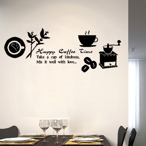 free shipping coffee maker plate grass wall kitchen band wall decals band wall stickers amp wall peels