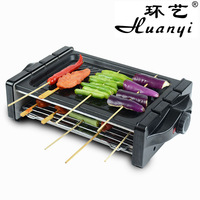 Household eco-friendly electric heating BBQ grill electric hotplate teppanyaki commercial