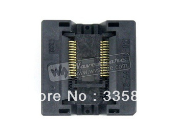 SSOP28 TSSOP28 OTS-28(44)-0.65-02 Enplas IC Test Burn-in Socket Programming Adapter 0.65mm Pitch 6.1mm Width