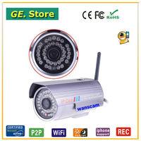 Wireless Waterproof Outdoor Security Camera P2P Wifi IP Camera Monitor Serveillance Network Camera