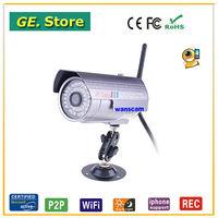 Wanscam new hot cctv surveillance camera outdoor use waterproof long ir distance cool bullet 2 year warranty alarm system camera