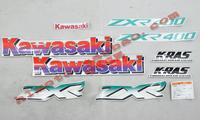 Kawasaki zxr400 coincidentally applique flower motorcycle