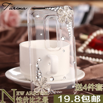 Tarina  for htc   g17 rhinestone phone case evo 3d x5151d mobile phone case protective case shell