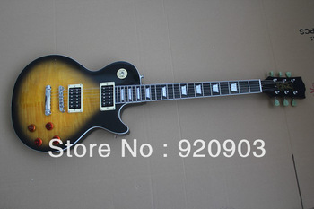 Hot Selling G Electric Guitar 6 String LP Slash Rosewood Gold With Black Color In Stock Free Shipping