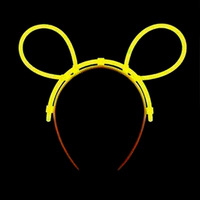 Luminous hair pin neon headband hairpin accessories neon stick