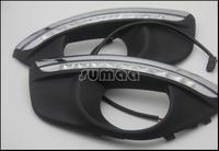 CAR-Specific Hyundai Santa Fe 2010-2012 LED DRL,LED Daytime Running Light + Free Shipping By EMS or Fedex