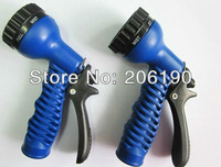 Hot sell 200pcs/lot multi-function Spray Nozzle with fast connector for garden hose Water Hose Gun Sprayer Nozzle Front Trigger