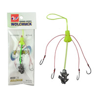 Small fishing tackle hand pole grape hook crucianand hook carousingly hook 1