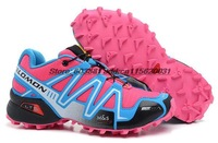 original ad salomon 3 III women shoes,speedcross 3 free shipping,RX Prime,hiking Trainers