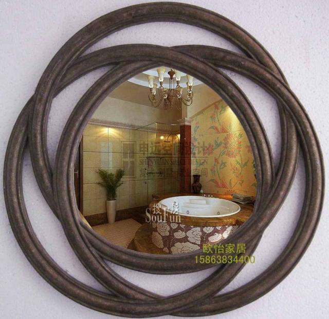온라인 구매 도매 타원형 벽 거울 중국에서 타원형 벽 거울 ...