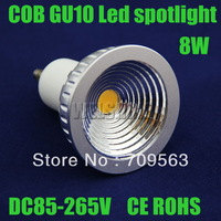 50X New TYPE  120degree 8W  COB  led dimmable  lamp light led Spotlight led lighting CE ROHS size 50x60mm-028