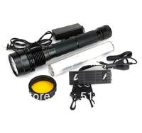 2013 Hot Sales!!! 85W/65W/45W+SOS/Strobe HID Xenon Flashlight Torch 8500 Lumen /8500LM xenon flashlight
