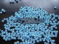 glass beads diy handmade beaded clothes material accessories 2mm echinochloa frumentacea garment bead lake blue