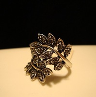 2014 New Fashion Jewelry Women's Accessories Vintage Olive Branch Rings For Women Gift Free Shipping